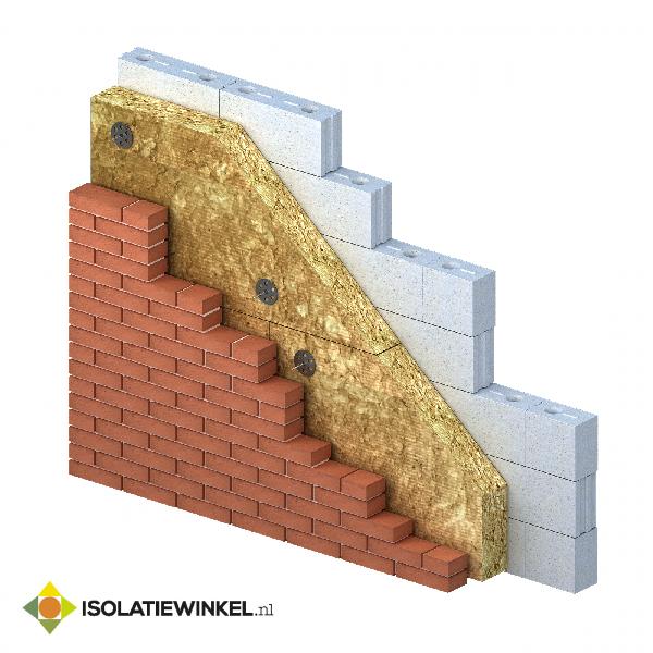 Rock4All steenwol 1200x600x70mm Rd=2,00 4,32 m2/pk