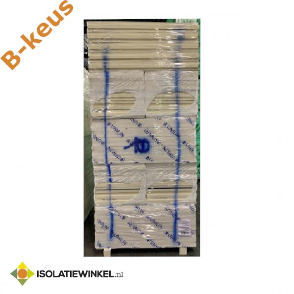 B-keus  PIR Alu spouwplaat 1200x600x100mm