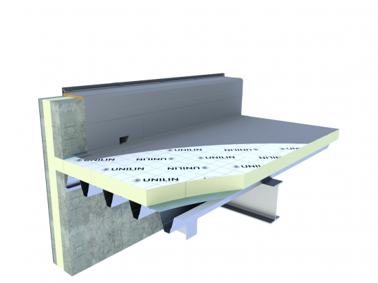 PIR plaat tweezijdig Alu laminaat 1200x600x70mm Rd=3,15